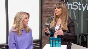 Hair Color Spray For Roots Get Christie Brinkley U0027s Bombshell Blonde With The Best Root Spray