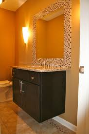 How To Paint Over Dark Walls by Bathroom Fresh Fresh White Tiles Mirror Frames Over Dark Wooden