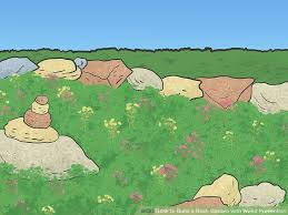 how to build a rock garden home design inspiration ideas and