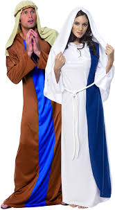 Jesus Costume And Mary Costume For Couples
