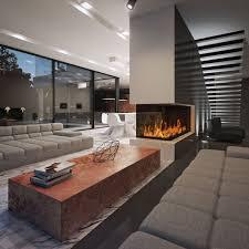 modern interior design living room black and white modern living