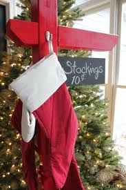 diy stocking holder with the home depot domestic charm
