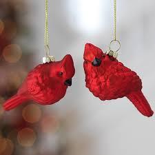 cardinal bird ornaments birds of prey