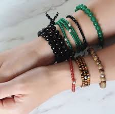 bracelet styles with beads images Beaded bracelets niin treading lightly on the earth png