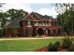 traditional two story house plans farris manor luxury home plan 055s 0002 house plans and more