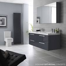 Bathroom Vanity Units Online by Hudson Reed Quartet Designer Grey Bathroom Vanity Unit 1400mm
