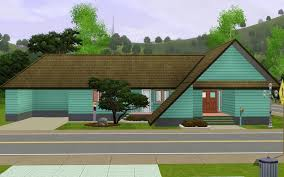 Asian Style House Plans Style Houses In Sims 3 Pets