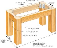how to build a table base how to make furniture out of wood pallets ehow select a simple