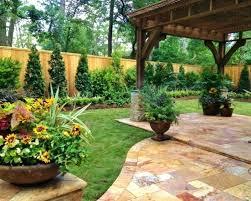 Garden Corner Ideas Landscaping Along Fence Garden Fence Line Onlinemarketing24 Club