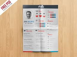 Creative Resume Template Free Designers Cv Template Free Psd Free Psd Ui Download