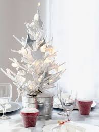 white table top tree homesfeed