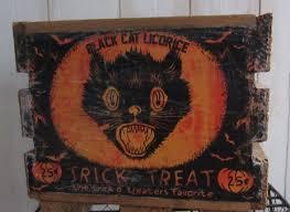 Vintage Halloween Decorations Vintage Halloween Decorations Purple Patch Diy Crafts Blog