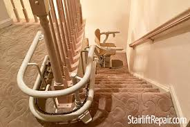stannah starla curved stair lift stairliftrepair com
