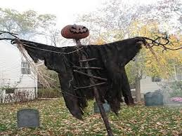 over the top halloween decorations that send trick or treaters