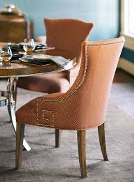 Upholstered Arm Chair Dining Soho Luxe Dining Room Bernhardt Dining Room Tables And Chairs