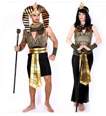 Egyptian Halloween Costumes Pharaoh Egypt Cosplay Male Female Costumes Halloween