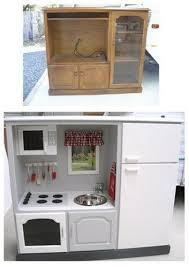 cuisine enfant cuisine avec meuble de récup bricolage jouets enfants
