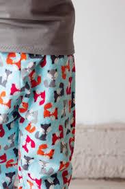 free pattern pajama pants fox pjs boys pajama pants pattern applique see kate sew