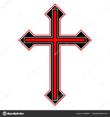 tribal cross designs isolated vector sketch of a