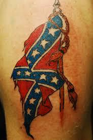 Rebel Flag Eagle Tattoo My Tattoo Designs Confederate Flag Tattoos