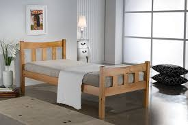 Santos Antique Pine Bed Frame Birlea Miami Bed Pine Single Co Uk Kitchen Home