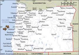 where is portland oregon located on the map map