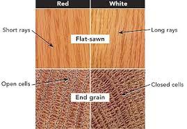 how do i tell oak from white oak homebuilding