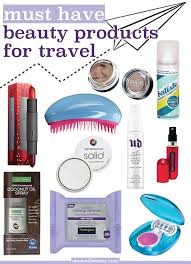 10 Must Essentials For A by 10 Must Products For Travel Makeup