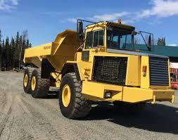 volvo dump truck 1996 volvo a35c articulating dump truck 69 000 alaska land for