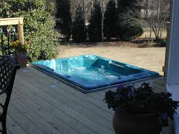 decks with tubs spa deck in macon ga is a pristine example