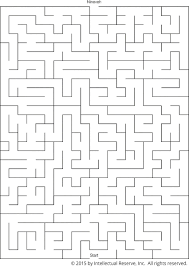 lds org primary manual nineveh maze