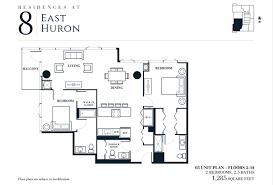 e floor plans 8 e huron rentals chicago eight east huron apartments