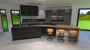 cuisine beige et gris modele cuisine noir et blanc fabulous indogatecom cuisine faience