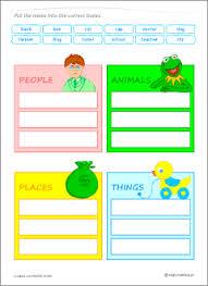 common vs proper nouns grammar worksheets for kids learning english