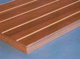 Panneau Bois Teck Panneau Pour Plancher Intérieur En Contreplaqué Stratifié