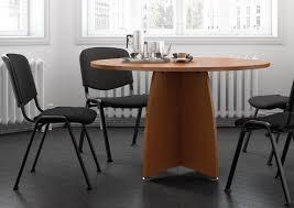 table ronde de bureau table ronde pied croix tables rondes mobilier conference