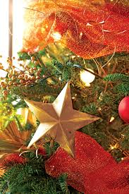 How To Make A Christmas Tree Star For Top - christmas tree ideas for every style southern living