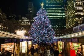 bryant park blog tree lighting show wrap up