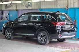 black mitsubishi outlander sport locally assembled mitsubishi outlander unveiled 7 airbags and