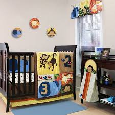 Crib Bedding Jungle Crib Bedding Set Jungle Safari Theme 123 Zoo Buddies 8