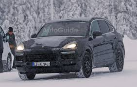 Porsche Cayenne 1st Generation - next gen porsche cayenne spied kicking off winter testing season