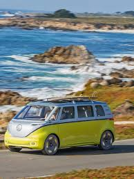 volkswagen electric concept the new vw bus is back and it u0027s electric trendland