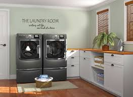 classy laundry room decoration design ideas with modern steel