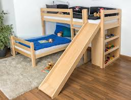 Bunk Bed Frames Solid Wood by Loft Beds Solid Wood Loft Bed With Stairs Bunk Desk Ideas In