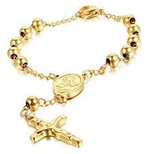 men charm bracelet images Cupimatch religious stainless steel beaded rosary jpg