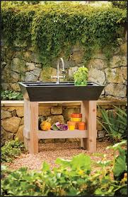 Garden Sink Ideas Outdoor Garden Sink Gardening Design