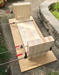 Diy Patio Bench by Diy How To Make Outdoor Bench Outdoor Wood Furniture Wood