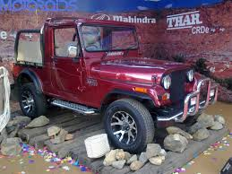 thar price 2015 mahindra thar with updated interior on its way motoroids