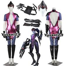 Emily Halloween Costume Ow Game Widowmaker Emily Cosplay Costume Halloween Clothing Custom