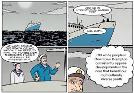 Comic Memes - someone is making politically charged comics and memes about